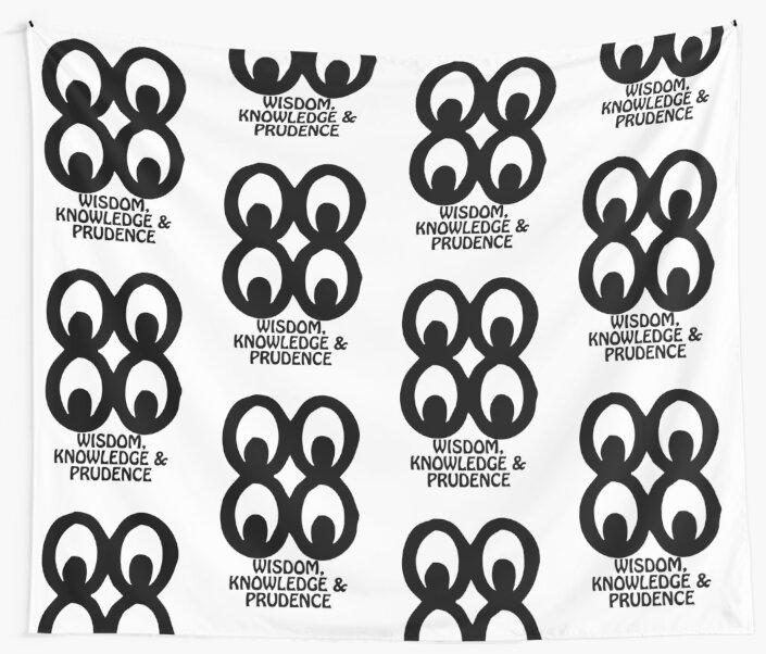T Shirt Adinkra Symbol Wisdom Knowledge Wall Tapestries By Keith