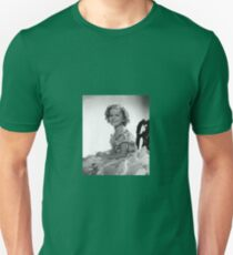 CINEMA / Shirley Temple in frilly dress Unisex T-Shirt