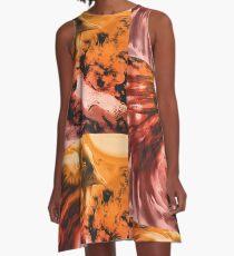 Fire Bird A-Line Dress