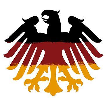 Germanic Eagle by Comhaltacht