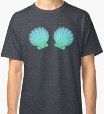 Mermaid Seashell Bra Classic T-Shirt