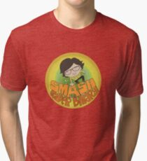Smash the Gender Binary! Tri-blend T-Shirt