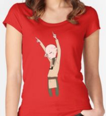 No Rules, Just Right Women's Fitted Scoop T-Shirt