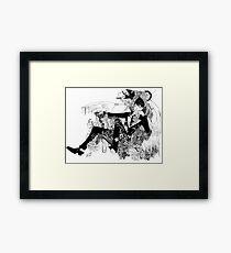 King of Gotham Framed Print