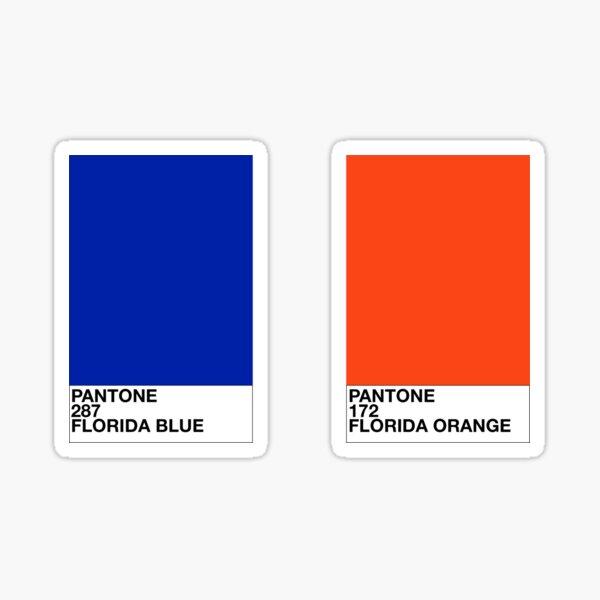 UF pantone colors Sticker