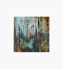 Bent World, Bright Wings Art Board Print