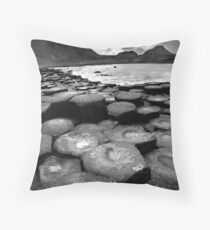 giants causeway Throw Pillow