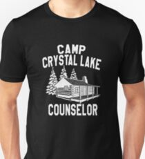 Camp Crystal Lake Counselor Friday The 13th Unisex T-Shirt