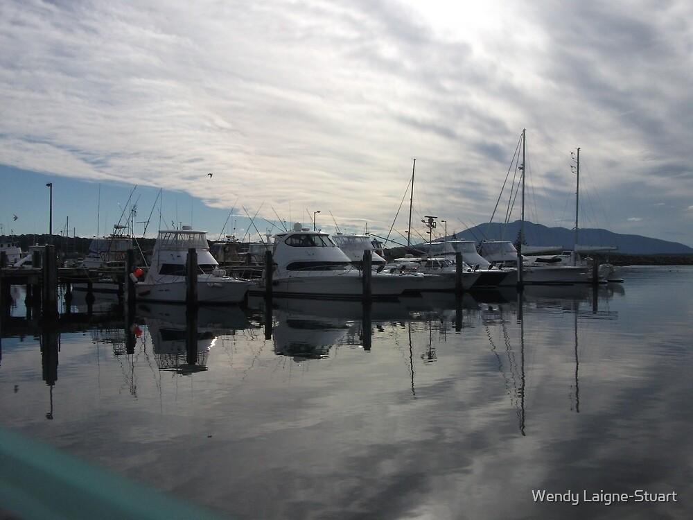 Fishing Boats by Wendy Laigne-Stuart