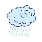 Rainy Floof by eshcaine