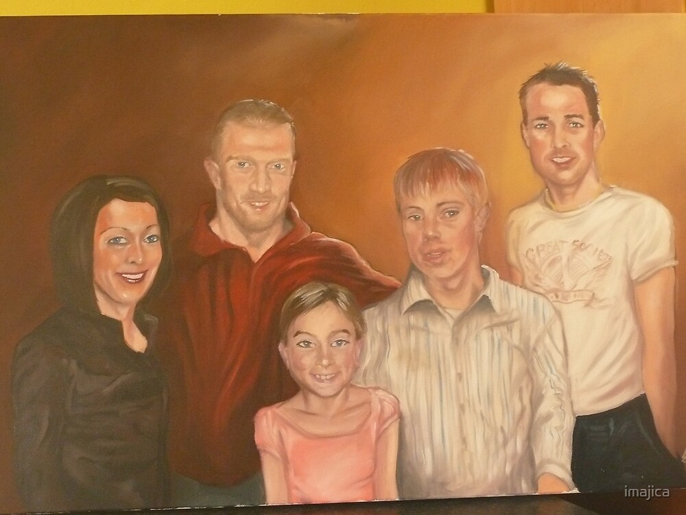 family commission portrait by imajica