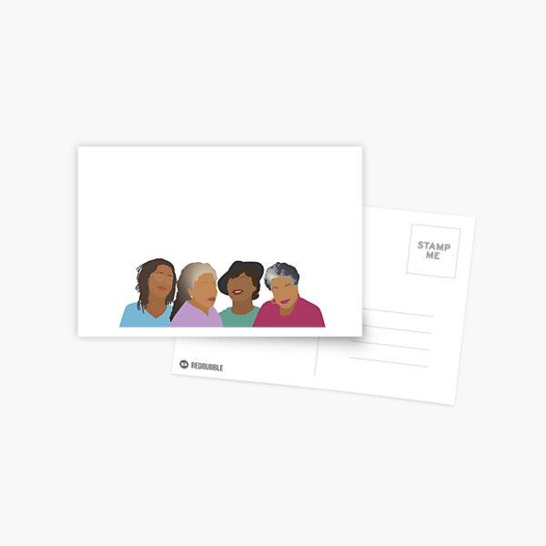 Squad Goals- Queens of African American Literature Postcard