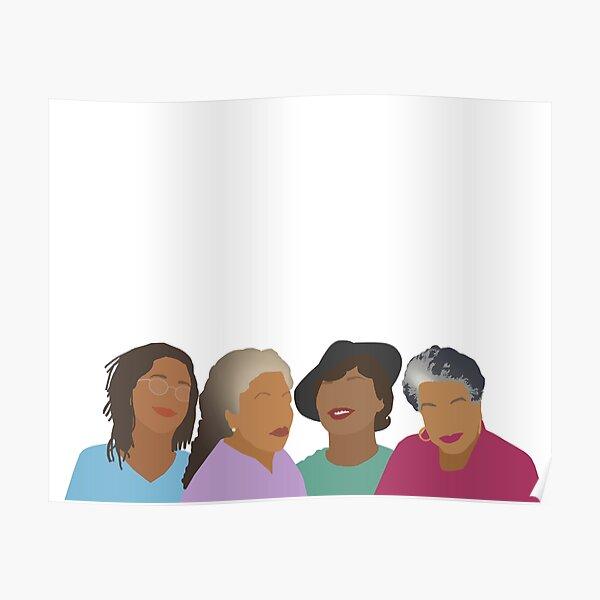 Squad Goals- Queens of African American Literature Poster