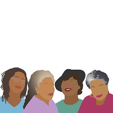 Kader Ziele - Queens of African American Literature von thefilmartist