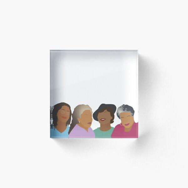 Squad Goals- Queens of African American Literature Acrylic Block