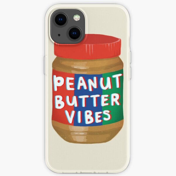Peanut Butter Vibes iPhone Soft Case