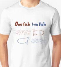 One Fish Two Fish Redshift Blueshift T-Shirt