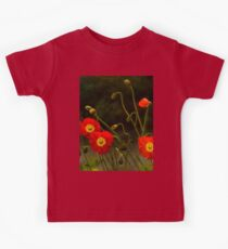 Yang Poppies Kids Tee