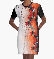 iPad Drawing - Desert Jewels Graphic T-Shirt Dress