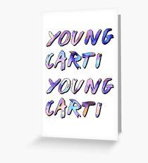 Playboi Carti- Young Carti Greeting Card