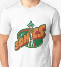 Seattle Supersonics Throwback Tee Unisex T-Shirt