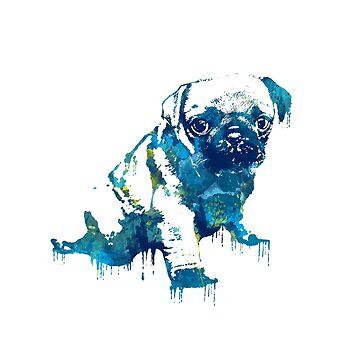 Pug by lauracscott