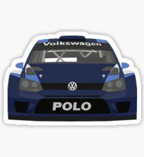 2015 VW Polo R WRC Sticker