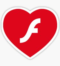 Flash Love Sticker
