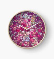 """Bouquety"" Clock"