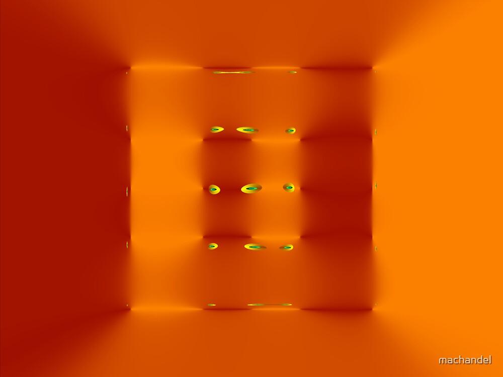 square orange fractal by machandel