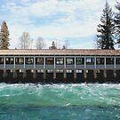 Lake Tahoe Dam by doubleheader