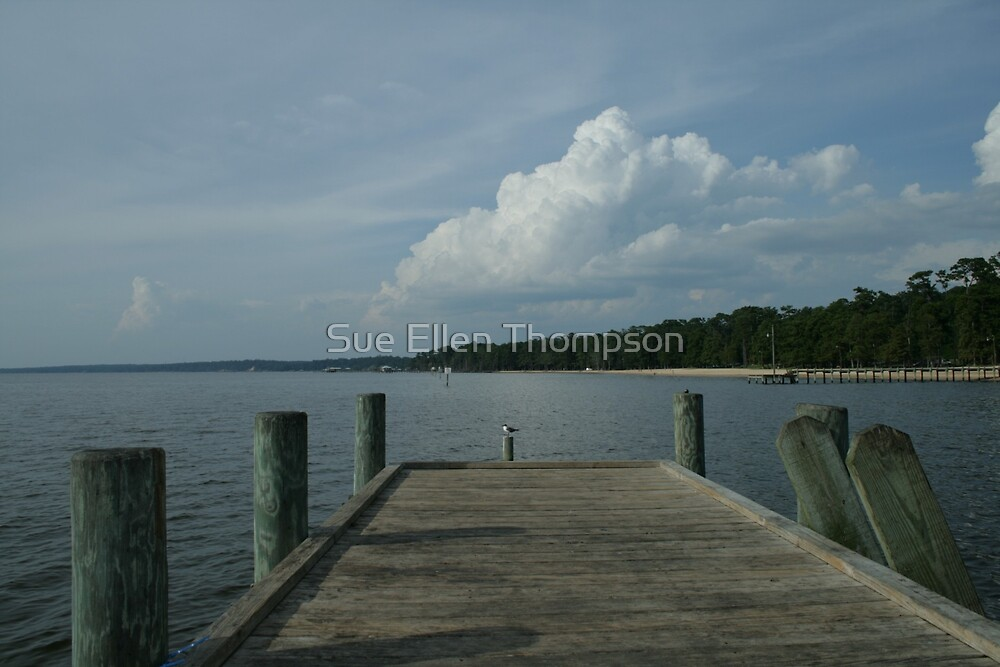 Pier View by Sue Thompson