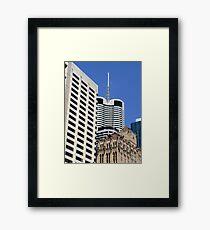 Architectural Mish-Mash Framed Print
