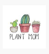 Plant Mom Photographic Print