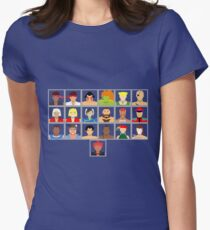 Select Your Character - Ultra Street Fighter 2 Women's Fitted T-Shirt