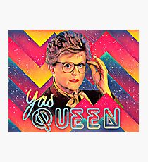 Yas to the Queen Jessica Fletcher Photographic Print