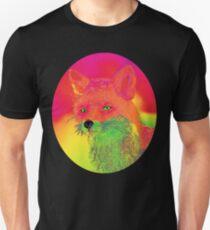 Renard néon Unisex T-Shirt