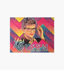 Yas to the Queen Jessica Fletcher Art Board