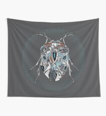 Sapphire Elytron Wall Tapestry