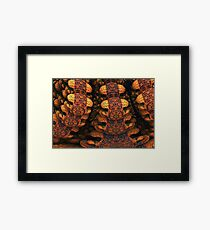 Backbone Framed Print