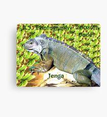 Jenga Canvas Print