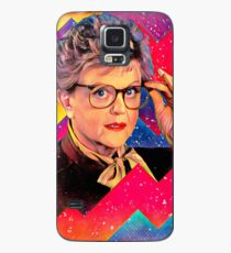 Yas to the Queen Jessica Fletcher Case/Skin for Samsung Galaxy