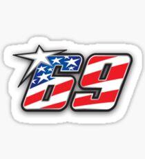 69 Hayden Sticker