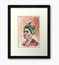 The Essence of Africa  Framed Print