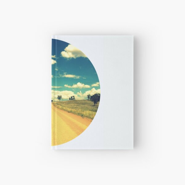 Dirty Back Road Hardcover Journal