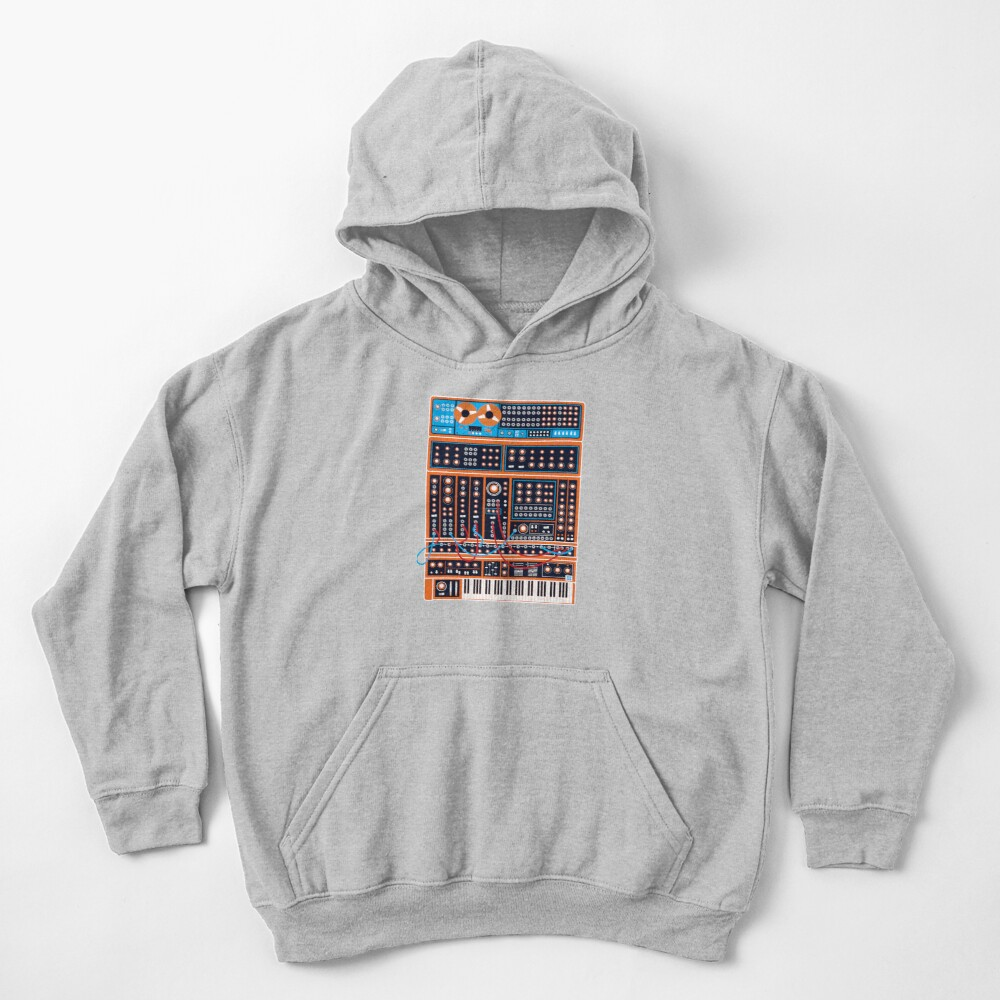 Synth Kids Pullover Hoodie