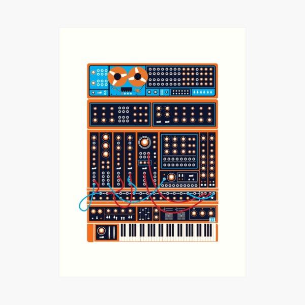 Synth Art Print