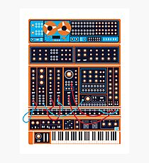 Synth Photographic Print