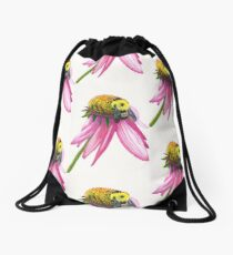 Bumble Bee Drawstring Bag