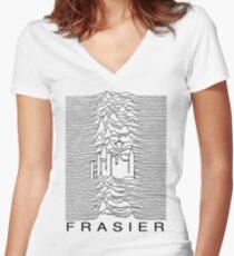 Frasier Pleasures Women's Fitted V-Neck T-Shirt